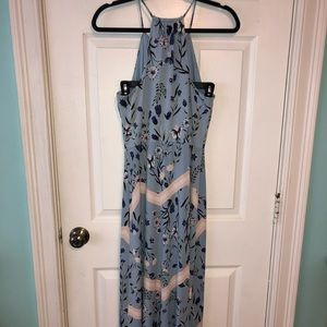 Candie's Large Light Blue Maxi Dress